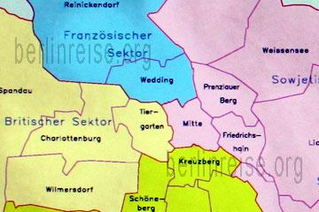 Berlin Stadtteile Mit Karte Vor Und Nach Dem Fall Der Berliner