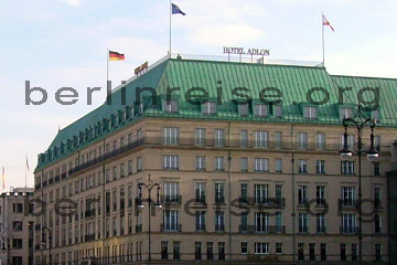 Das Hotel Adlon in Berlin