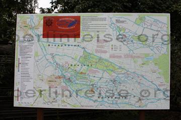 Karte Spreewald Lubbenau.Spreewald Karte Berlinreise Org
